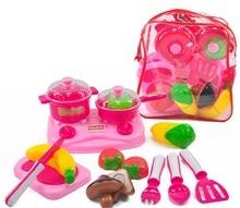 YARD Boys Girls Cooking Food Kitchen Toys Set Educational Dollhouse Miniature