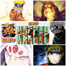 Naruto Shippuden posters Wall Sticker Home Decora (24 styles)