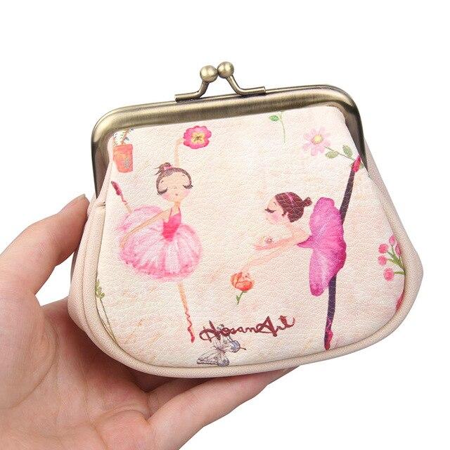 d32017b1af 2017 High Quality PU Women Purse Hand Bag Beige Coin Purse Key Wallet Card  Package Clutch