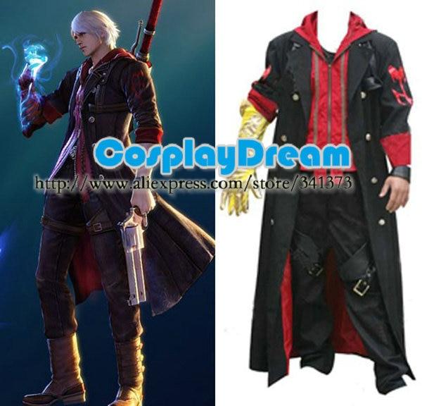 Devil May Cry 4 Nero Cosplay por encargo de Halloween carnaval Anime Cosplay 1d924c50a479