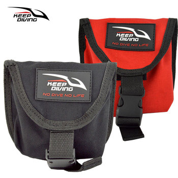 1PCS High Quality Diving Weight Belt Scuba Bag Pocket for Lead Block Accommodates 2KG/4.5lb