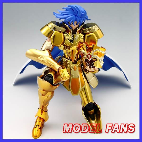 MODÈLE FANS EN-STOCK Saga des Gémeaux/Kanon S-Temple MC metalclub Or Saint Seiya métal armure Tissu mythe Ex2.0 action Figure