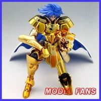 MODEL FANS IN STOCK Gemini Saga/Kanon S Temple MC metalclub Gold Saint Seiya metal armor Cloth Myth Ex2.0 action Figure