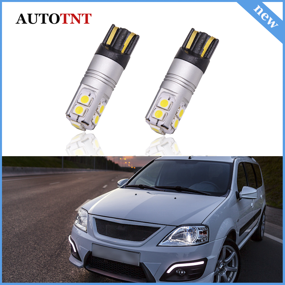 Canbus No Error T10 W5W LED lamps Clearance Parking Lights For <font><b>Lada</b></font> 112 Coupe 2101 2102 <font><b>2103</b></font> 2104 2105 2106 2107 2108 2109 21099 image