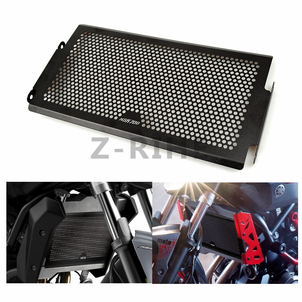 for mt07 mt-07 mt Radiator Protective Cover Grill Guard For Yamaha MT-07 FZ07 2014-2016 MT07 XSR700 2016 Radiator Grille Guards arashi motorcycle radiator grille protective cover grill guard protector for 2008 2009 2010 2011 honda cbr1000rr cbr 1000 rr