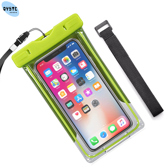 the best attitude 99061 3b048 US $3.84 23% OFF|Waterproof shooting underwater camera cover hand 6.1 inch  universal phone pouch water proof case For iphone X XS XR 7 8 7/8 plus-in  ...