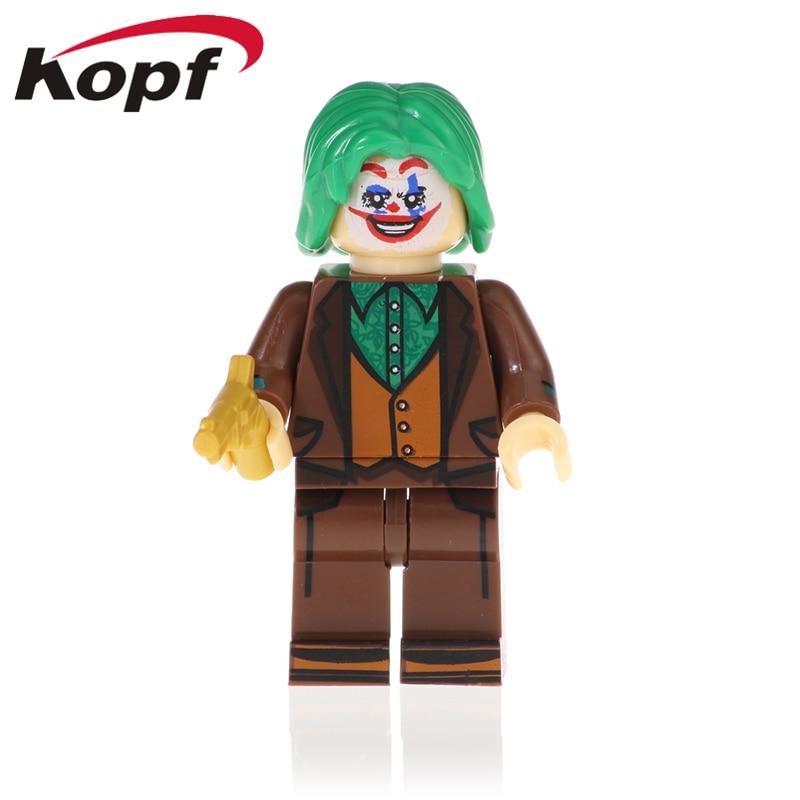 Single Sale Building Blocks Super Heroes Scarecrow Joker Poison Ivy Bricks Figures Dolls Action For Children Toys XH 1020