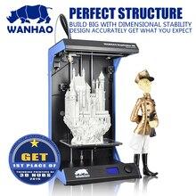 Горячие продажи, Wanhao D5S, квасцы Структура Стабильный 3D принтер, с большой размер сборки 205*305*605 мм, в быстро speed300mm/swithfree нити