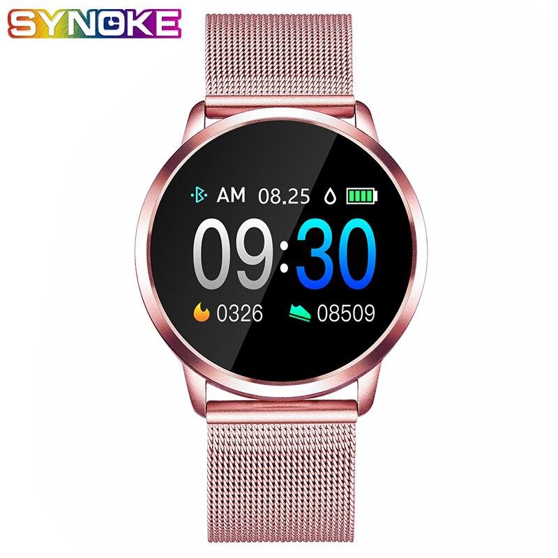 PANARS Smart Watch Women Android Waterproof Watches Digital Sport Men Wristwatches Mens Montre Femme