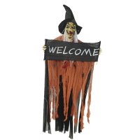 Halloween Hanging Decor Haunted House Ghost Halloween Decoration Halloween Supplies With Sound