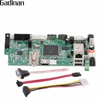 GADINAN 8CH 1080P Or 12CH 960P NVR DVR Network Video Recorder Mini Board Onvif P2P Cloud