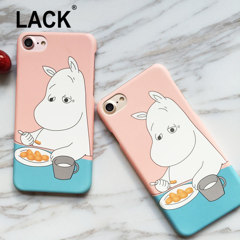 LACK Funny Cartoon Hippo Cover Case For iphone 7 Case For ...