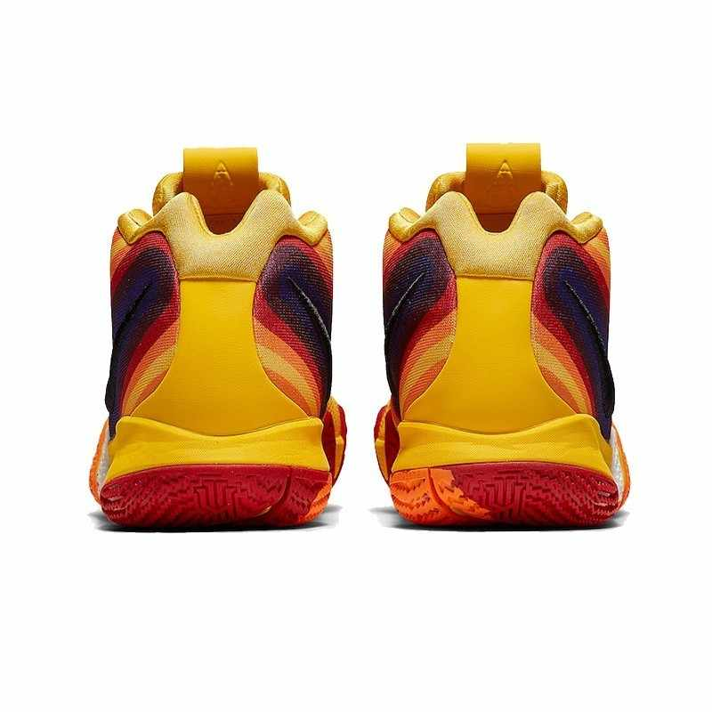 9bfaddad6ad024 ... NIKE Kyrie 4 Original Mens Basketball Shoes Breathable Stability Anti-slip  Outdoor Sport Sneakers For ...