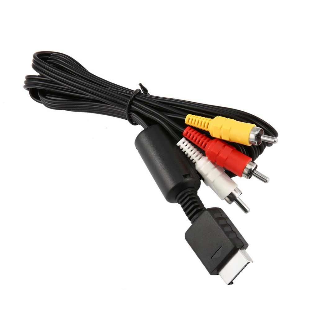 Onleny Kabel AV untuk SEGA Dreamcast Baru RCA Audio Video Komposit TV Konsol 1.8M Digital Kabel Male To Male RCA Konektor