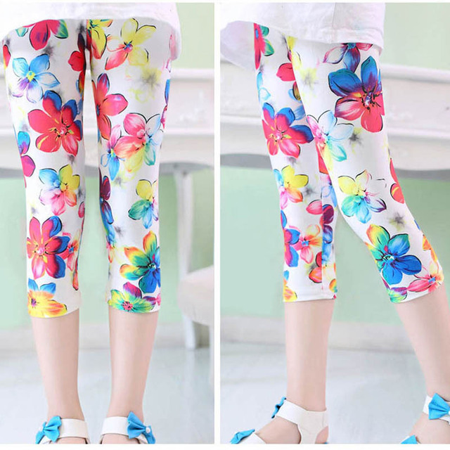8f544c307ffe2 Children Pants 2018 Summer New Baby Girl Tights Butterfly Flowers Star Kids  Tights Girls Tights Cartoon Tights For Girls