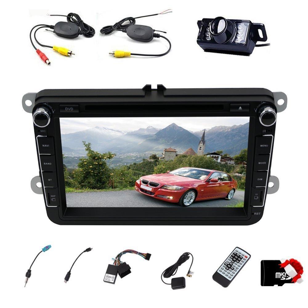 venta caliente unidad de coche para volkswagen 8 ''hd coche Reproductor de DVD