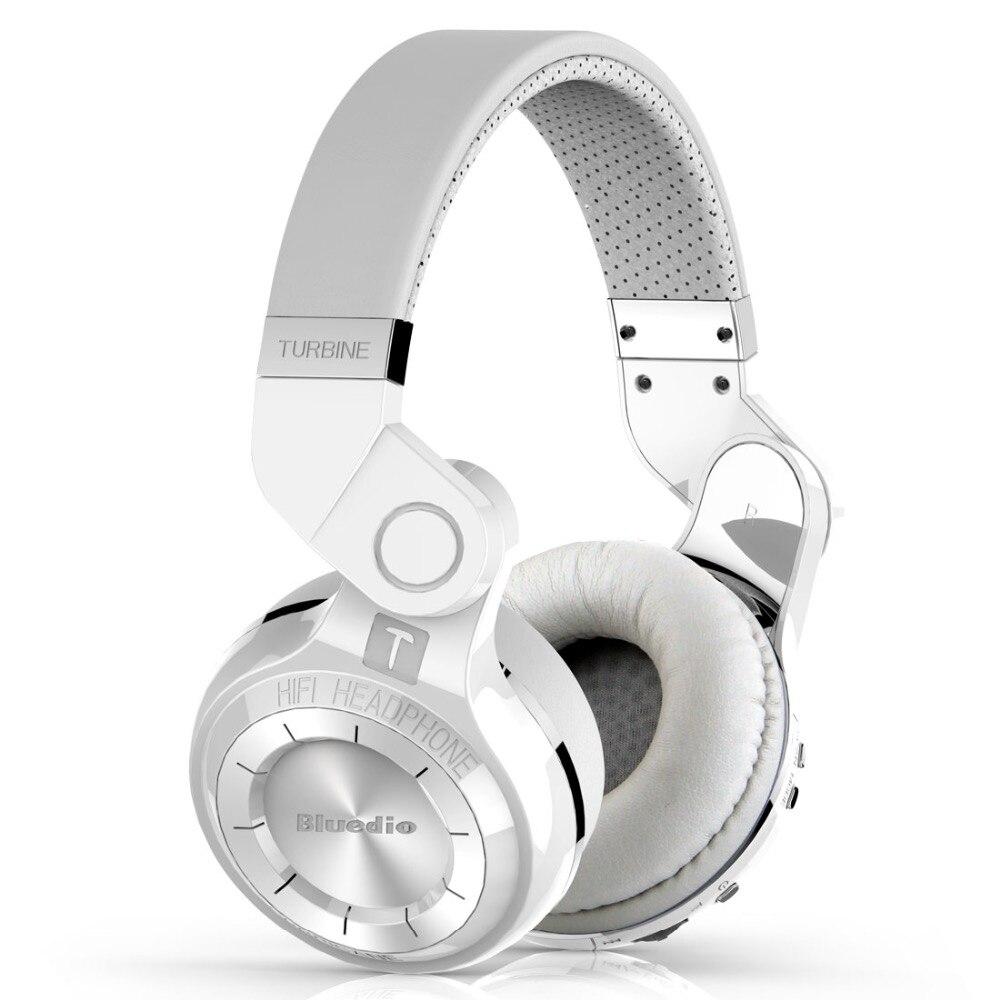Bluedio T2 Bluetooth Stéréo Casque Sans Fil Pliage Casque Micro Intégré BT4.1 Puissant Bass Casque Sur l'oreille
