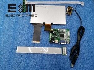 Image 3 - E & M 7 inç 1024*600 Kapasitif Dokunmatik Ekran 4 Nokta IPS LCD Modülü 720 P HDMI VGA USB Araç Ahududu Pi 3 Monitör Oyun Ekran DIY