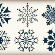 Wyprzedaż Snowflake Tattoo Kupuj W Niskich Cenach