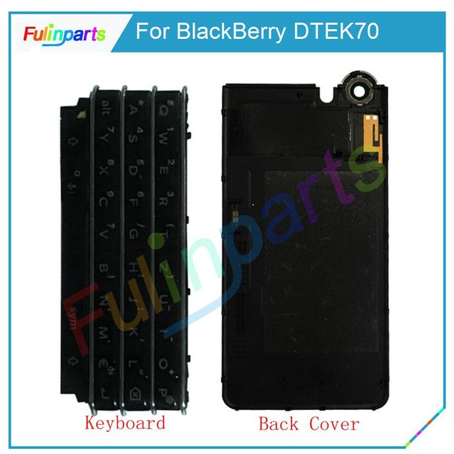 lowest price 3bd5d 17e5d US $22.99 |For BlackBerry KEYone DTEK70 Keyboard / Back Battery Cover Door  Housing Case back cover Replacement Parts Black With Tools-in Mobile Phone  ...