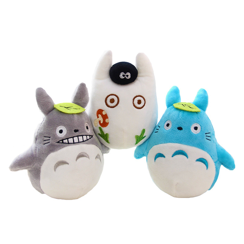 1pcs 15cm cute soft plush cartoon animal totoro toy filling with bamboo charcoal package creative family car decorated toy gift stuffed animal 120 cm cute love rabbit plush toy pink or purple floral love rabbit soft doll gift w2226