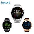2016 Новое Прибытие Smart Watch KW18 Наручные IPS Круглый Дисплей Heart Rate Monitor Bluetooth4.0 MT2502C для iOS и Android