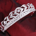 Luxurious Bridal Rhinestone Tiara Women Crown Wedding Accessory Bridal Jewelry Prom Party Tiara Noiva Wedding Hair Accessories