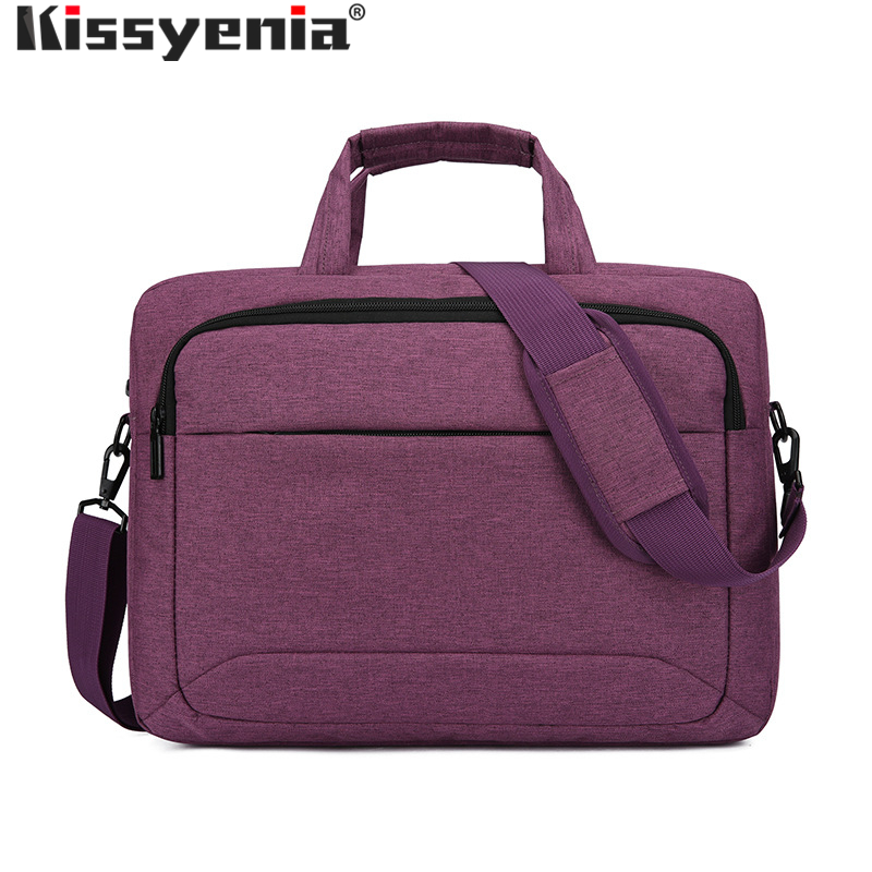 Kissyenia Waterproof Business Briefcase For Women Travel 13 14 Inch Laptop Bag Portable Flight Available Men A4 Briefcase KS1339