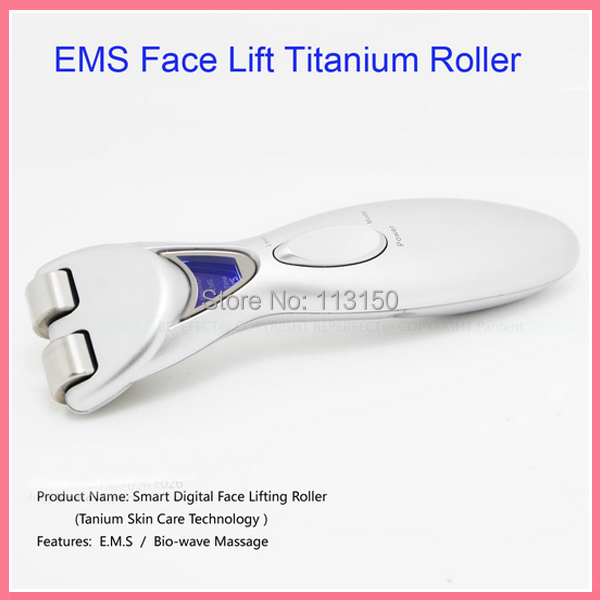 5PCS/LOT DHL Free Shipping Bio Wave Microcurrent Spa Meso Skin Care Roller Titanium 30pcs lot free shipping dhl zj 70065a touch