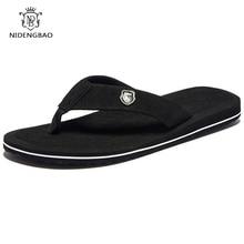 50fd7bebf9ef2 Brand Men flip flops Summer Beach Sandals Slippers for Men Flats High Top  Non-slip