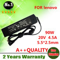 NEW laptop adapter AC Charger power FOR Lenovo ThinkPad X1 Carbon special Square connector 20V 4.5A  5.5*2.5 WHOLESALE