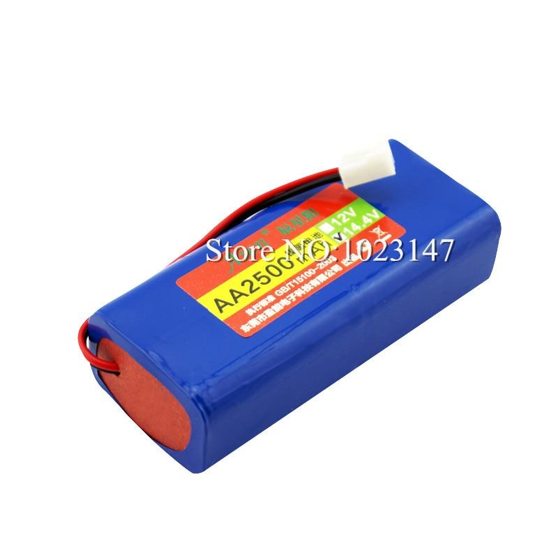 14.4V 2500mAh FC8800 Robot Vacuum Cleaner Battery Pack replacent for Philips FC8802 защита сидений new galaxy защита спинки сиденья авто