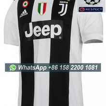 2d1f937a7 2018 2019 Juventus soccer jersey + all patches RONALDO 7  DYBALA 18-19 Juventus  Football shirt with all patches Size S-XL