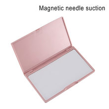 Portable Needle Storage Case Plastic Sewing Pins Organizer Magnetic Container QJ888(China)