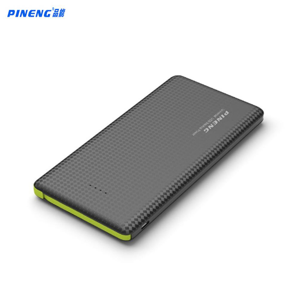 imágenes para PN 951 Moblie PINENG 10000 mah Banco de la Energía Banco de la Energía de Batería Portátil Agitar Comenzar Li-polímerocapacidad Indicador para iphone6s