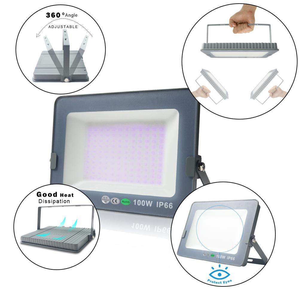 365nm 395nm стерилизация защита глаз Led УФ гель отверждения лампа печатная машина краска чернил шелкография версия Ultraviole