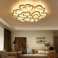 LED lamp double loving living room lamp