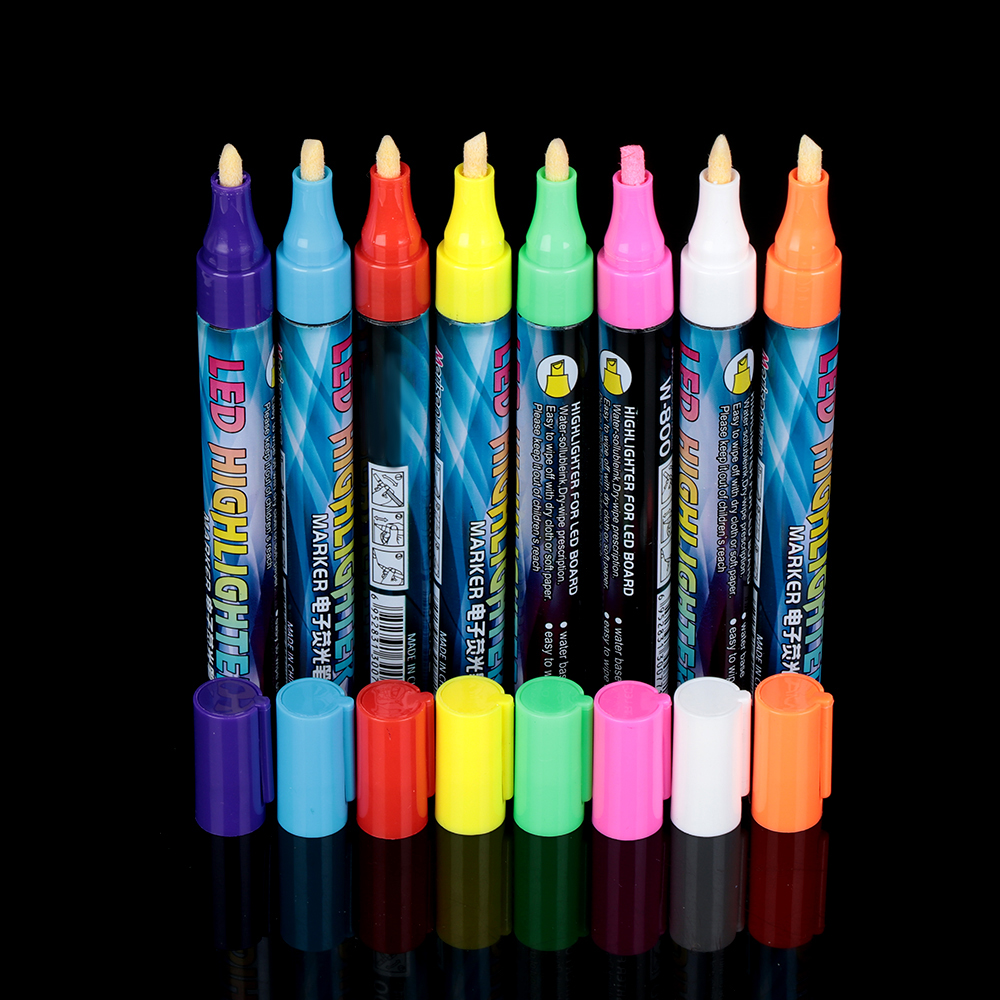 Tools Marking Water Based Pens Queen Bee Marker Pen Bevel Tip Brush LED