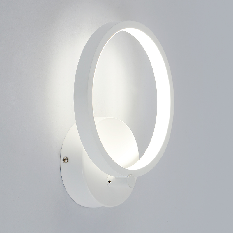 20cm 12W Modern led sconce wall lights for bedroom study living balcony room Acrylic home decoration led wall light lamp fixture