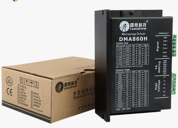 Бесплатная доставка Leadshine на базе DSP дизайн 2 фазы цифровой Шаг Драйвер DM860H fit Steper nema 23 и nema34 работы 30-80VDC