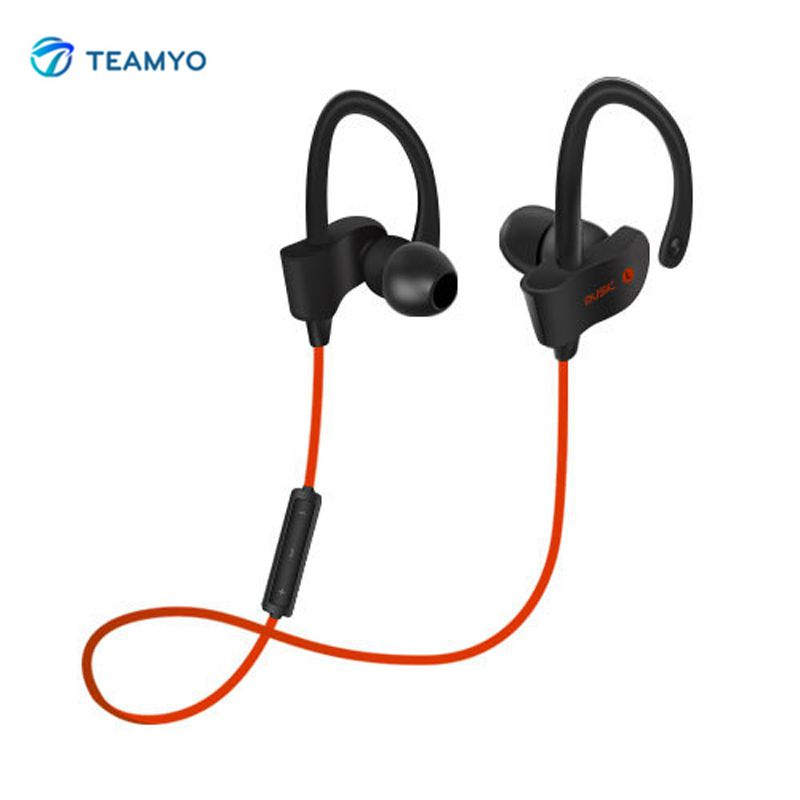 Teamyo Bluetooth Earphone Pro Wireless Headphone Sport Headset Auriculares Cordless Headphones Casque for iPhone Xiaomi Phone remax 2 in1 mini bluetooth 4 0 headphones usb car charger dock wireless car headset bluetooth earphone for iphone 7 6s android