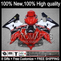 Body Body For YAMAHA YZFR6 2006 2007 YZF R 6 YZF R6 06 07 Red White