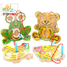 Factory direct sales, magnetic maze series, early childhood educational toys, intellectual games,small the pen labyrinth