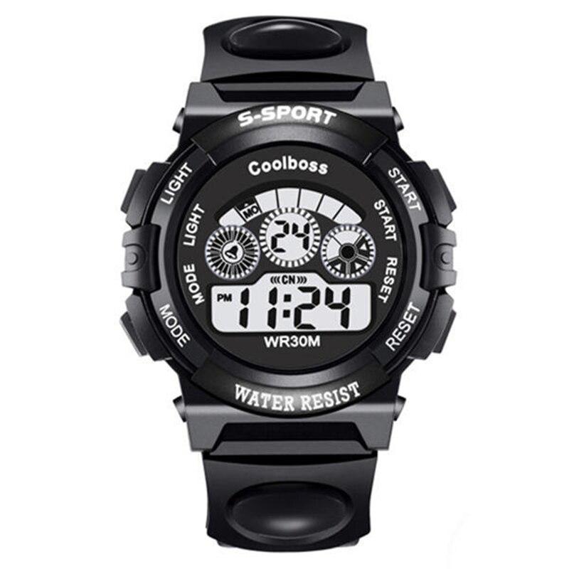 Life Waterproof Children Sports Digital Watch Kids LED Fitness Watches Boys Girls Electronic Clock Hour Montre Enfant Reloj Nino