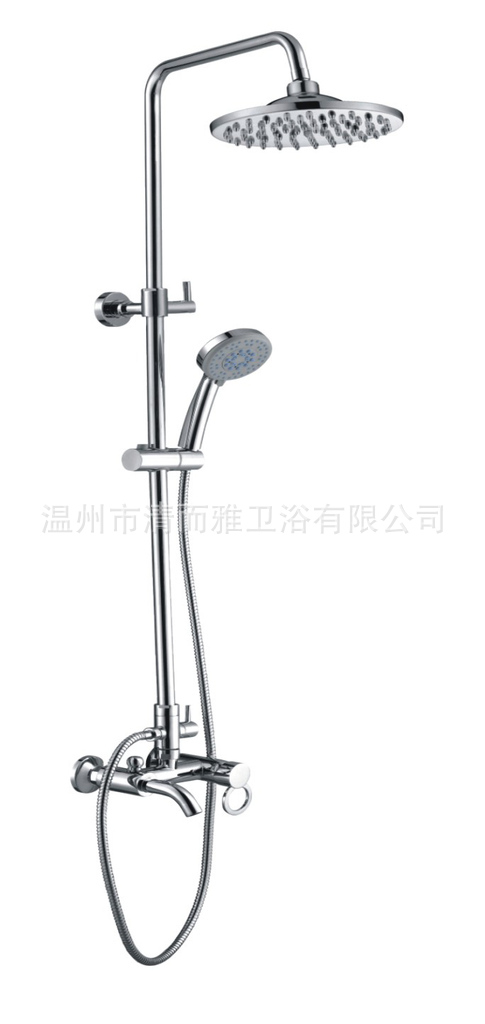 Supply a full copper shower suite taken off the hot and cold water shower faucet QEY - 5804 models wholesale