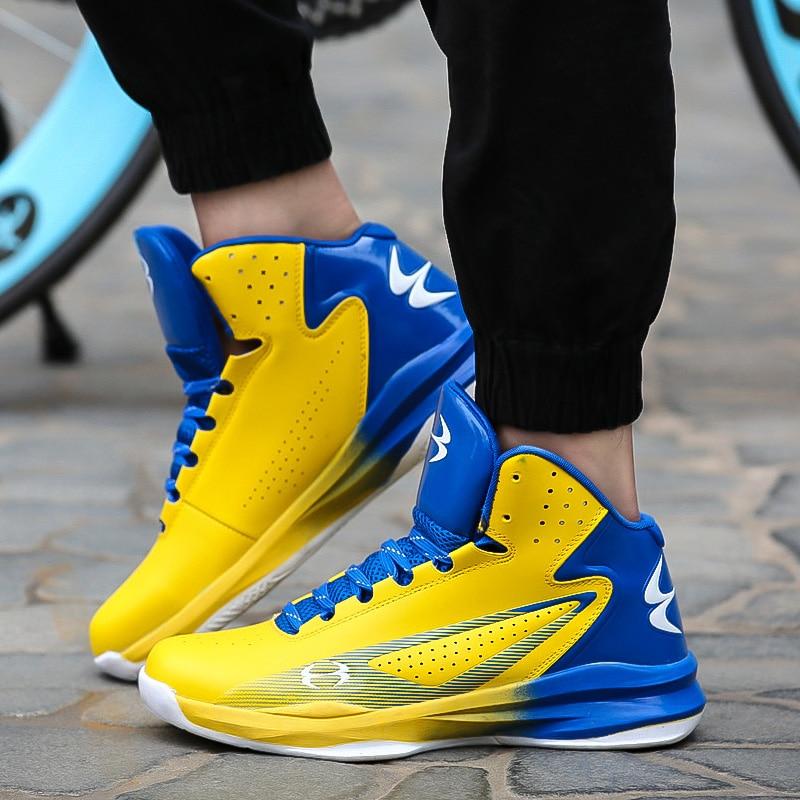 Для Мужчинs Баскетбольные кеды Air Damping Для мужчин спортивные Спортивная обувь высокие дышащие кроссовки Обувь кожаная для девочек Для мужчи... ...