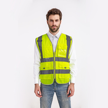 Working Overalls High Visibility Reflective Vest Workplace Road Clothes Cycling Sports Outdoor Night Protective Safety Clothing