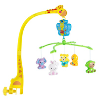 Song Bed Bell Kids Crib Musical Mobile Cot Music Box Gift Baby Rattles Toy Child