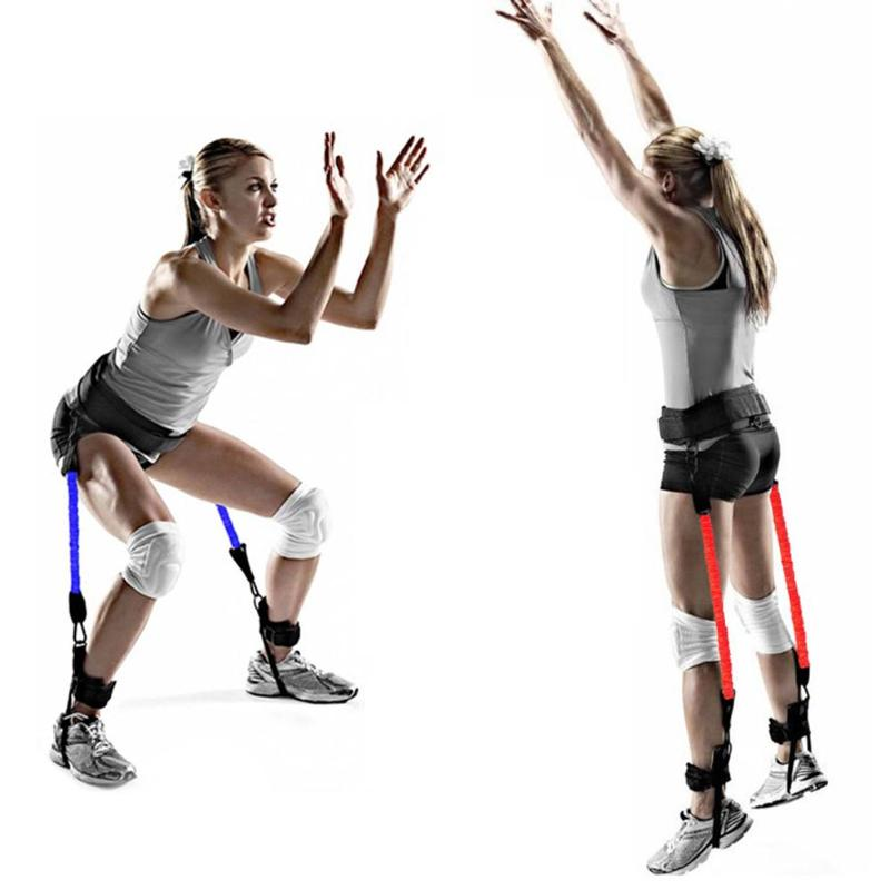 Vertical Jumping Trainer Jump Resistance Bands leg Horizontal leaping Fitness for Basketball Tennis Running Strength tipos de entradas usb para celulares
