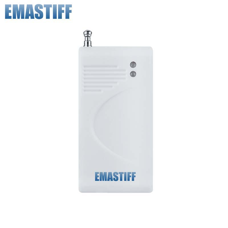 Livraison gratuite! meilleur qualité 433 MHz Sans Fil De Vibration du Verre Rupture Capteur Détecteur Pour GSM et PSTN Système D'alarme